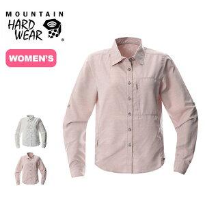 マウンテンハードウェア キャニオンロングスリーブシャツ Mountain Hardwear Canyon Long Sleeve Shirt レディース ウィメンズ OR7121 シャツ ロングシャツ トレッキングシャツ 長袖 トップス アウトドア <2020 春夏>