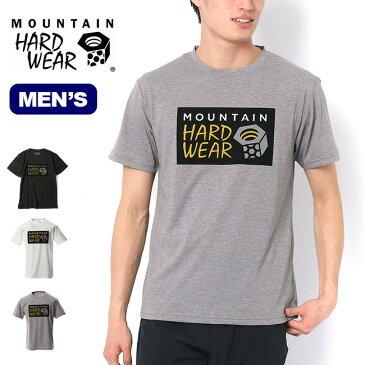 マウンテンハードウェア ハードウェアフロントロゴTee Mountain Hardwear Hardwear Front Logo T メンズ OE9155 Tシャツ ロゴTシャツ 半袖 トップス アウトドア <2020 春夏>
