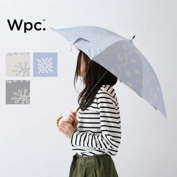 ワールドパーティー パラソル T/C遮光レースプリント Wpc. 81-14539 傘 雨傘 日傘 キャンプ アウトドア【正規品】