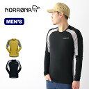 ノローナ ビィティフォーン ウールシャツ メンズ Norrona bitihorn wool Shirt 2605-18 トップス Tシャツ 長袖 ロンT アウトドア <2020 春夏>