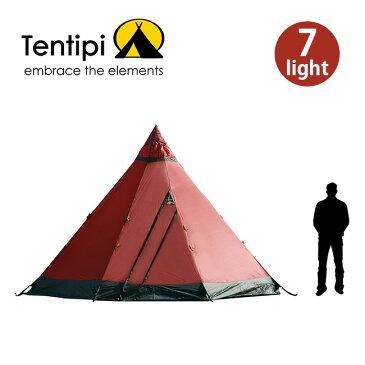 テンティピ ジルコン7ライト Tentipi Zirkon7 Light テント ワンポール ティピー キャンプ ファミリー 宿泊 6~8人 アウトドア <2020 春夏>