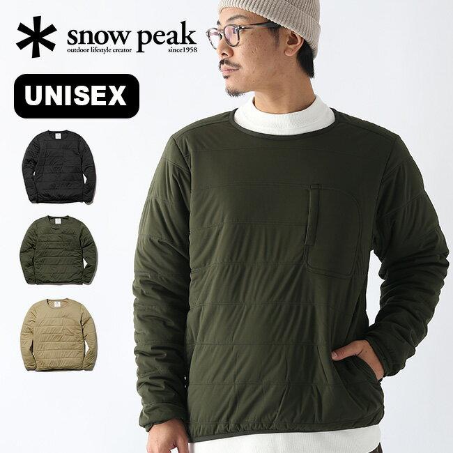 トップス, スウェット・トレーナー  snow peak Flexible Insulated Pullover SW-20AU002