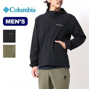 コロンビア ライトキャニオンソフトシェルジャケット Columbia LIGHT CANYON SOFT SHELL JACKET メンズ PM0038 トップス アウター コート パッカブル キャンプ アウトドア【正規品】