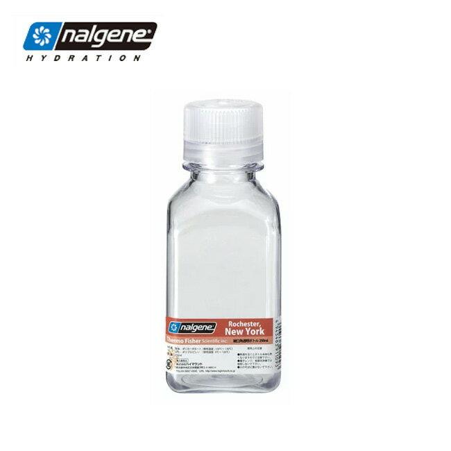 ナルゲン 細口角透明ボトル 250ml