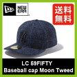<残りわずか!>【40%OFF】 ニューエラ LC 59FIFTY ベースボールキャップ ムーンツイード NEW ERA59FIFTY Baseball cap Moon Tweed 帽子 アウトドア キャップ スポーツ ヤンキース SALE セール
