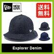 <残り1枚!>【30%OFF】ニューエラ エクスプローラー デニムメッシュ 【送料無料】 【正規品】NEW ERA 帽子 ハット 帽子 Explorer アウトドア Explorer Denim