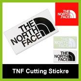 ノースフェイス TNF カッティングステッカー【正規品】THE NORTH FACE ステッカー 小物