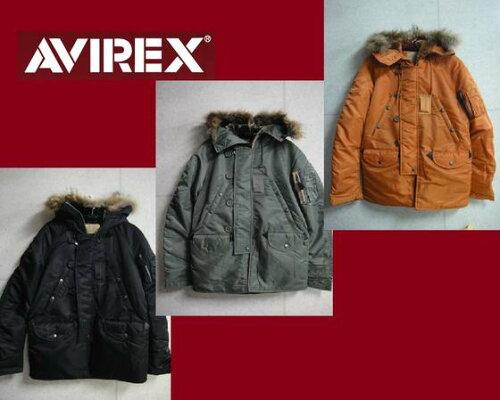セールAVIREX定番NEW N-3B TIGHT(タイトシルエットモデル)フライトジャケットN3B 6132080☆アビレ...