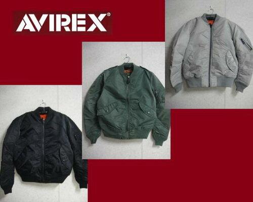 AVIREX☆MA-1 COMMERCIAL フライトジャケット6132077☆AVIREXアビレックス