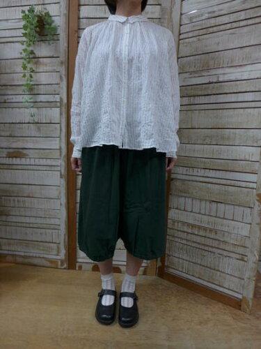 grin★定番マナプール天竺バルーンパンツ 804c-29-8104C-029 (グリン)