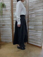 【GRANDMAMAMADAUGHTER】チノプリーツスカート(グランマママドーター)
