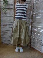 【GRANDMAMAMADAUGHTER】チノプリーツスカートGK001(グランマママドーター)