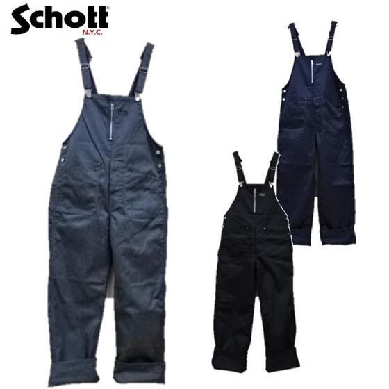 Schottワークオーバーオール TC WORK OVERALL PANTS 3186001(ショット)