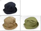 【15%OFFクーポン3月19日11:59まで】●prit【プリット】コットンリネン高密度ツイルタックハット帽子01920