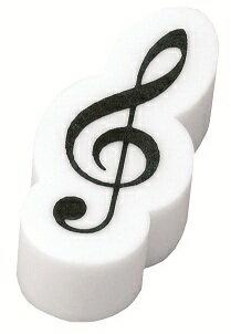 ト音記号立体消しゴム ホワイト♪ この商品はお取り寄せ商品です♪♪ピアノ教室・バイオリン教室・吹奏楽部の記念品にピアノ発表会 記念品 音楽会粗品 に最適♪レッスントート 音楽雑貨 ねこ雑貨 バレエ雑貨