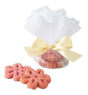 エレガント苺クッキー・ウェルカムプチギフト(結婚式)