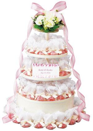 エレガント苺クッキー60個セット・ウェルカムプチギフト(結婚式)