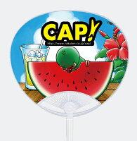 【\3240以上のお買い物でプレゼント♪】CAP!オリジナルうちわ