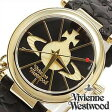 ヴィヴィアンウェストウッド腕時計 [VivienneWestwood時計](Vivienne Westwood 腕時計 ヴィヴィアン ウェストウッド 時計) (TIME MACHINE) レディース時計/ブラック/VV006BKGD[ギフト/プレゼント/ご褒美][おしゃれ 腕時計][新生活 入学 卒業 社会人]