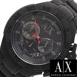 アルマーニエクスチェンジ腕時計[ArmaniExchange時計](ArmaniExchange腕時計アルマーニエクスチェンジ時計)クロノグラフメンズ時計/ブラック/AX1187[エレガントカジュアル]
