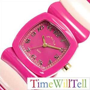 タイムウィルテル腕時計[TimeWillTell時計](TimeWillTell腕時計タイムウィルテル時計)フェブラリースペシャル(FEBRUARYSpecial)/レディース時計/ピンク/TIMEWILLTELL-0016