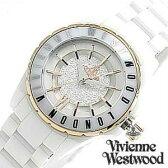 ヴィヴィアンウエストウッド腕時計 [VivienneWestwood時計](Vivienne Westwood 腕時計 ヴィヴィアン ウエストウッド 時計 ) スローン II (Sloane II ) /レディース腕時計/ホワイト/VV088RSWH[ギフト/プレゼント/ご褒美][ おしゃれ腕時計 ] [新生活 新社会人 入学 卒業]