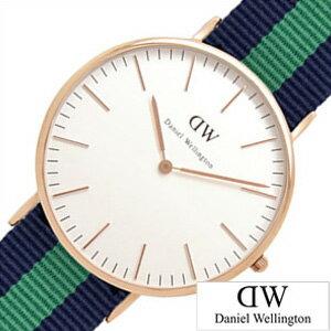 ダニエルウェリントン腕時計DanielWellington時計DanielWellington腕時計ダニエルウェリントン時計クラシックワーウィックローズCLASSIC40mmメンズ/レディース/ユニセックス/オフホワイト0105DW