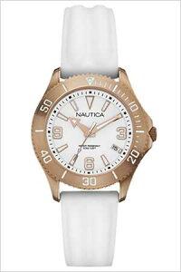 ノーティカ腕時計NAUTICA時計NAUTICA腕時計ノーティカ時計デイトMスポーツアクティブNAC102SPORTACTIVEレディース/ホワイトA14648M[送料無料アナログおしゃれ]