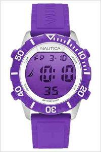 ノーティカ腕時計NAUTICA時計NAUTICA腕時計ノーティカ時計NSR100MODメンズ/液晶(パープル)A09931G[正規品人気スポーティーブランド][送料無料]