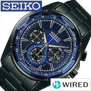 セイコー時計SEIKO腕時計SEIKO時計セイコー腕時計ワイアードリフレクションWIREDREFLECTIONメンズ/ブルーブラックAGAV102[正規品人気カジュアルクロノグラフ][送料無料]