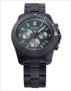 ケンテックス腕時計KENTEX時計KENTEX腕時計ケンテックス時計プロJSDFPROメンズ/グリーンストライプS690M-01[アナログ陸上自衛隊プロフェッショナルモデルクロノグラフブラック][送料無料]
