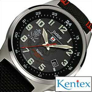 ケンテックス腕時計KENTEX時計KENTEX腕時計ケンテックス時計ソーラースタンダードJSDFSolarStandardメンズ/ブラックS715M-03[アナログSTANDARD海上自衛隊モデルシルバー黒銀][送料無料]
