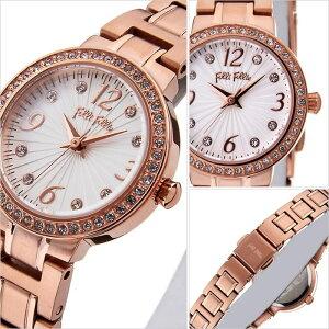 フォリフォリ腕時計follifollie時計follifollie腕時計フォリフォリ時計アリアウォッチARRIAWATCHレディース/シルバーホワイトWF2B015BSS[アナログ人気セレブピンクゴールドかわいい][送料無料]