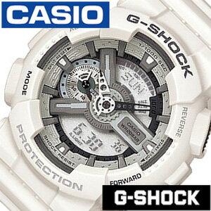 [当日出荷] Gショック 白 Gshock ジ−ショック g-shock G-ショック 腕時計 時計 GA-110C-7AJF メンズ グレー[アナデジ デジタル 液晶 ホワイト ブラック スポーツウォッチ 登山 マラソン ランニング 陸上競技 ジム] 誕生日