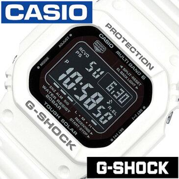 Gショック 白 Gshock g-shock G-ショック 腕時計 時計 メンズ ブラック GW-M5610MD-7JF[デジタル タフ ソーラー 電波 時計 ストップ ウォッチ ホワイト スポーツウォッチ トレーニング 登山 マラソン ランニング 陸上競技 ]