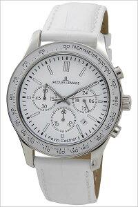 [5年保証対象]ジャックルマン腕時計[JACQUESLEMANS時計]ジャックルマン時計[JACQUESLEMANS腕時計]ケビンコスナーコレクションローマKEVINCOSTNERCOLLECTIONROMEメンズ/レディースJAL11-1586-4[人気/ブランド/革ベルト/レザー/ホワイト][送料無料]