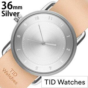 [5年保証対象][ティッドウォッチズ]ティッドウォッチ腕時計[TIDWatches時計]ティッドウォッチ時計[TIDWatches腕時計]TIDNo.2レディース/シルバーTID02-SV36-N[革ベルト/おしゃれ/正規品/替え/北欧/アナログ/ベージュ/ブラウン/シルバー/通販][送料無料]