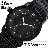 ティッドウォッチ腕時計 TIDWatches時計 TID Watches 腕時計 ティッド ウォッチ 時計 TIDNo. 1 レディース/ブラック TID01-BK36-NBK [NATO ベルト/正規品/おしゃれ/防水/替え/北欧/アナログ/ホワイト/ナトー][プレゼント・ギフト][おしゃれ腕時計][新生活 入学 卒業 社会人]