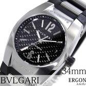 ブルガリ 腕時計 [ BVLGARI時計 ]( BVLGARI 腕時計 ブルガリ 時計 ) エルゴン ( ERGON ) メンズ/腕時計/ブラック/EG35BSVD [ウレタン ベルト/機械式/自動巻/メカニカル/スイス/シルバー/オート ボーイズ][プレゼント・ギフト][ おしゃれ腕時計 ] [新生活 新社会人 入学 卒業]