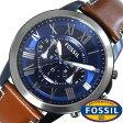 [28%OFF!]フォッシル 時計 [FOSSIL 時計] フォッシル 腕時計 [FOSSIL 腕時計] フォッシル時計 [FOSSIL時計] フォッシル腕時計 [FOSSIL腕時計]グラント GRANT メンズ/ブルー FS5151 [新作/人気/流行/ブランド/防水/レザー ベルト/革/ブラウン/プレゼント/ギフト][新生活]