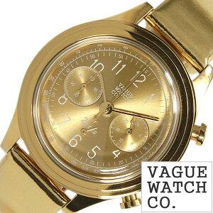 ヴァーグウォッチ腕時計[VAGUEWATCHCo.時計](VAGUEWATCHCo.腕時計ヴァーグウォッチコー時計)ツーアイズ(2EYES)メンズ/レディース/腕時計/ゴールド/2C-L-007[正規品/人気/流行/ブランド/防水/レザー/革/ユニーク]