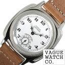 [あす楽]ヴァーグウォッチ 腕時計[VAGUE WATCH Co.時計]( VAGUE WATCH Co. 腕時計 ヴァーグ ウォッチ コー 時計 ) クッサン ( COUSSIN ) メンズ 腕時計 白 CO-L-001[ 正規品 人気 流行 ブランド 防水 レザー 革 ブラウン シルバー おしゃれ ブランド プレゼント ]