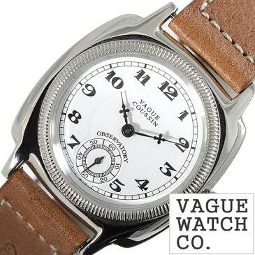 ヴァーグウォッチ 腕時計[VAGUE WATCH Co.時計]( VAGUE WATCH Co. 腕時計 ヴァーグ ウォッチ コー 時計 ) クッサン ( COUSSIN ) メンズ 腕時計 ホワイト CO-L-001[ 正規品 人気 流行 ブランド 防水 レザー 革 ブラウン シルバー おしゃれ ブランド プレゼント ギフト ]