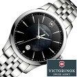 ビクトリノックス 腕時計 [VICTORINOX 時計]( VICTORINOX SWISSARMY 腕時計 ビクトリノックス スイスアーミー 時計 ) アライアンス スモール 腕時計/ブラック/VIC-241751 [新作/正規品/ブランド/メタル ベルト/防水/ダイアモンド/シルバー/白蝶貝][プレゼント・ギフト]
