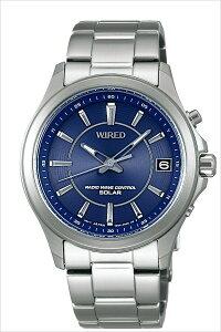 セイコー腕時計[SEIKO時計](SEIKO腕時計セイコー時計)ワイアードニュースタンダードモデル(WIRED)メンズ/腕時計/ブルー/AGAY010[ソーラー電波時計/定番/人気/ビジネス/フォーマル/シック/シンプル/シルバー][送料無料][クリスマスギフト]