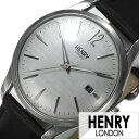 ヘンリーロンドン 腕時計 HENRY 時計 HENRY LONDON 腕時計 ヘンリー ロンドン 時計 ピカデリー PICCADILLY メンズ レディース グレー HL39-S-0075[ ペアウォッチ ブランド イギリス シンプル 革 レザー ブラック ] 誕生日 新生活 プレゼント ギフト