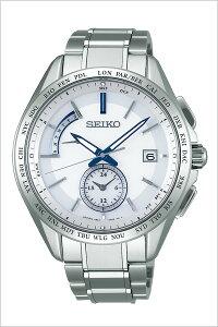 セイコー腕時計SEIKO時計SEIKO腕時計セイコー時計ブライツBRIGHTZメンズ/ホワイトSAGA229[新作/人気/正規品/ブランド/防水/電波ソーラー/チタン/シルバー]
