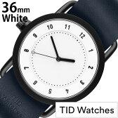 ティッドウォッチ腕時計 TIDWatches時計 TID Watches 腕時計 ティッド ウォッチ 時計 レディース/ホワイト SET-TID01-WH36-NV [新作/人気/流行/ブランド/革/レザーベルト/北欧/シンプル/レディース/ネイビー][新生活 入学 卒業 社会人]