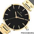 モックバーグ腕時計MOCKBERG時計MOCKBERG腕時計モックバーグ時計オリジナルOriginalsSagaBlackレディースブラックMO113[正規品人気アクセサリー革レザーゴールドブラックプレゼントギフト][おしゃれ][送料無料]
