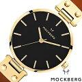 モックバーグ腕時計MOCKBERG時計MOCKBERG腕時計モックバーグ時計オリジナルOriginalsIlseBlackレディースブラックMO114[正規品人気アクセサリー革レザーゴールドブラウンプレゼントギフト][おしゃれ][送料無料]